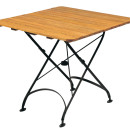 Terrace Folding Outdoor Table 800mm Sq