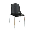 Adelaide Stacking Chair Black