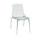 Adelaide Stacking Chair Clear