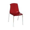 Adelaide Stacking Chair Red