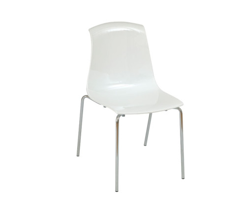 Adelaide Stacking Chairs White