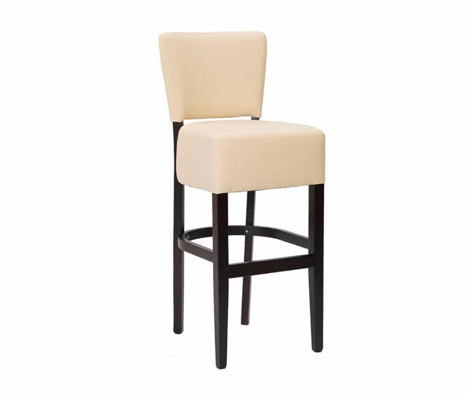 Alto Cream Faux Leather Barstool