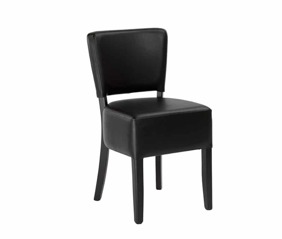 Alto Faux Leather Dining Chairs High Quality Contract