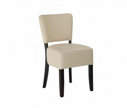 Alto Cream Faux Leather Dining Chair