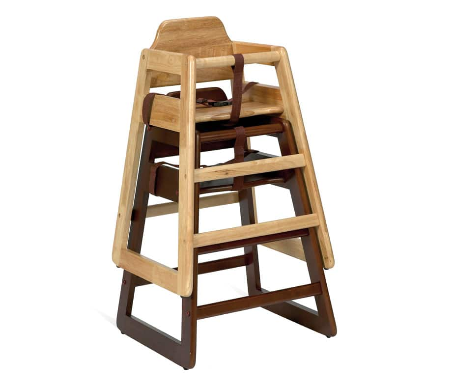 Bambino High Chair Stacked