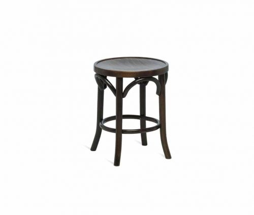 Bentwood Low Stool Walnut