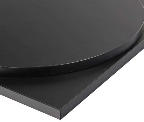 Black Laminate Table Tops