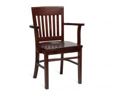 Boston Wooden Armchair