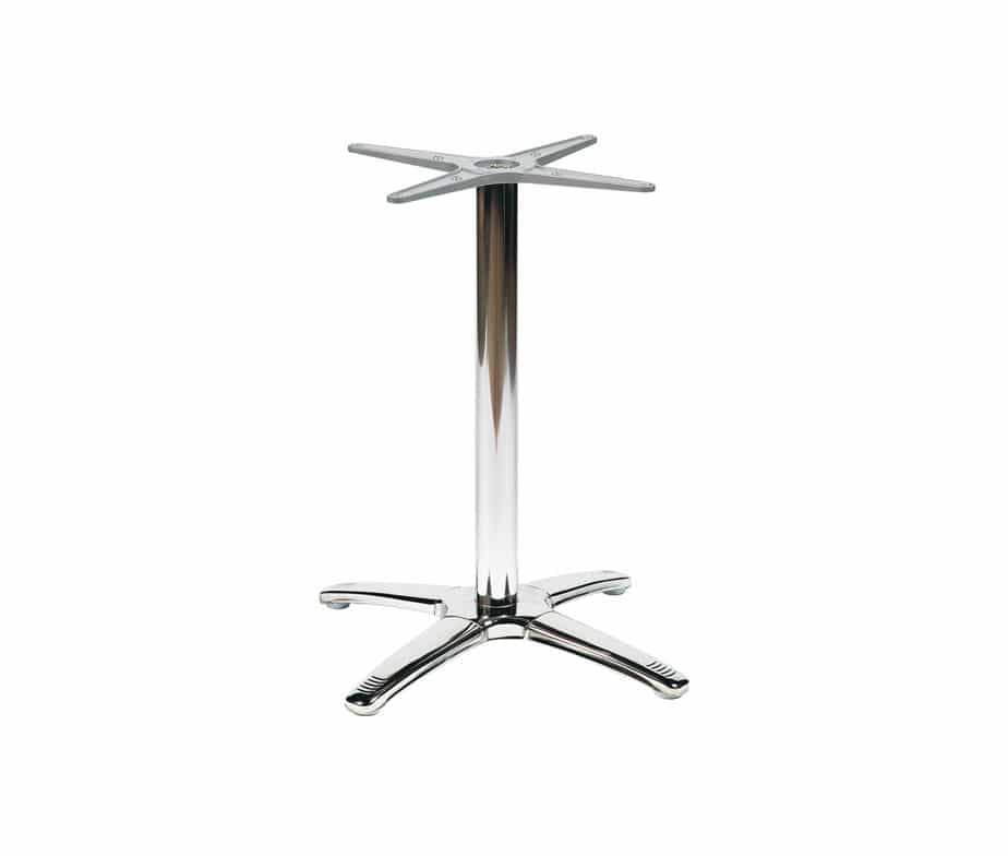 Breeze Cheap Metal Tables 4 Leg