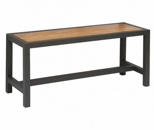 Brew Grey Teak Outdoor Bench