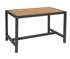 Brew Grey Teak Outdoor Dining Table