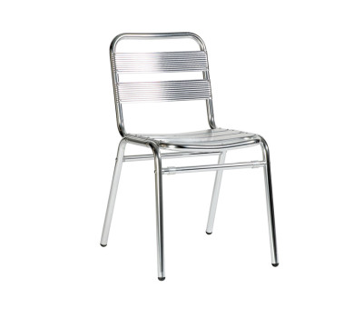 Catalina Alloy Stacking Side Chair
