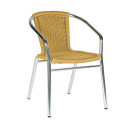 Catalina Cheap Outdoor Chairs Beige Weave