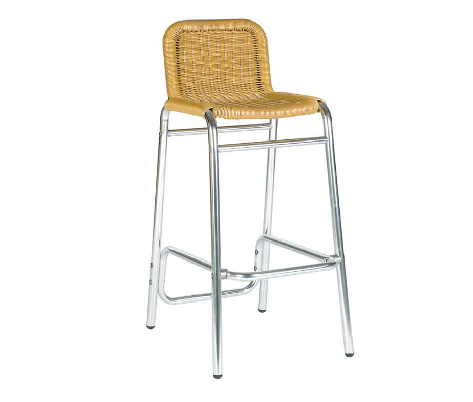 Outdoor Catalina Weave Barstool For Cafes And Bars