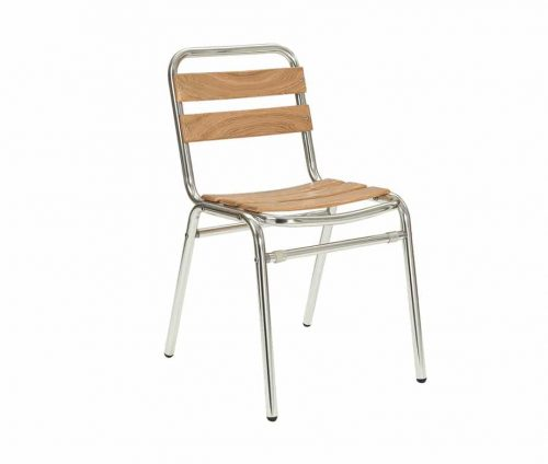 Catalina Stacking Outdoor Teak Chair