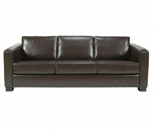 Chorus Faux Leather 3 Seater Sofa