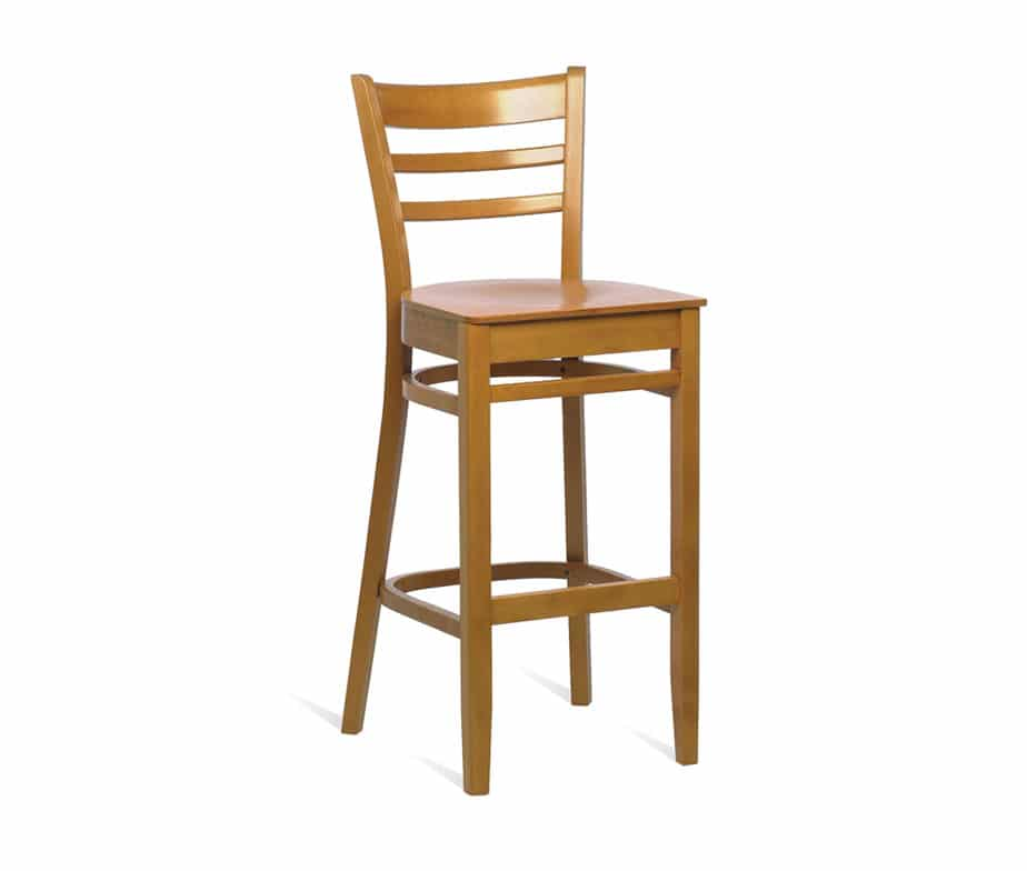 Dallas Barstool Walnut Oak Or Beech Quick Delivery Uk