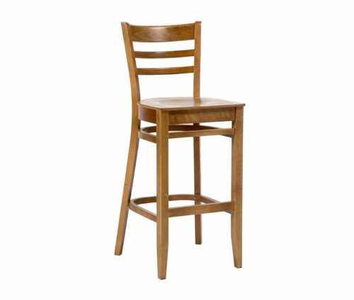 Dallas Oak Bar Stool
