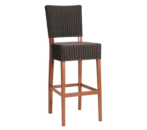 Dallas Aw Barstools Commercial Rattan Weave Outdoor Stool
