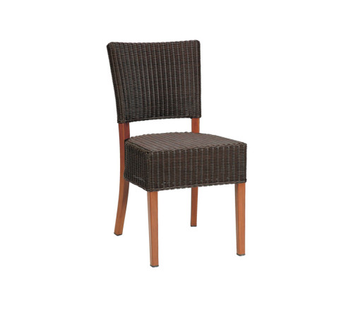Dallas Aw Dining Chair For Outdoor Restaurants Cafes Bars