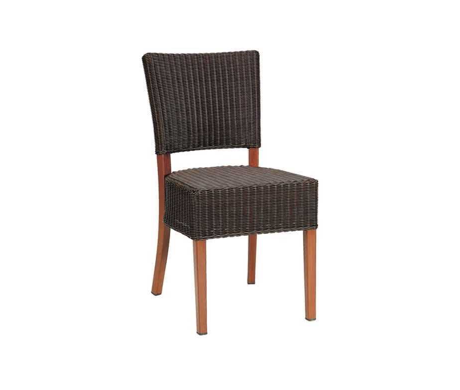 Dallas aw dining chair for outdoor restaurants cafes bars for Outdoor furniture dallas