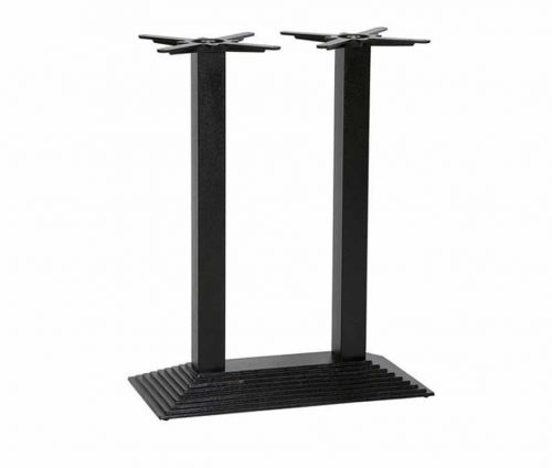 Denton Twin Ped Table Base Poseur
