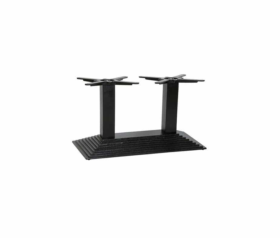 Denton Twin Ped Table Base Coffee