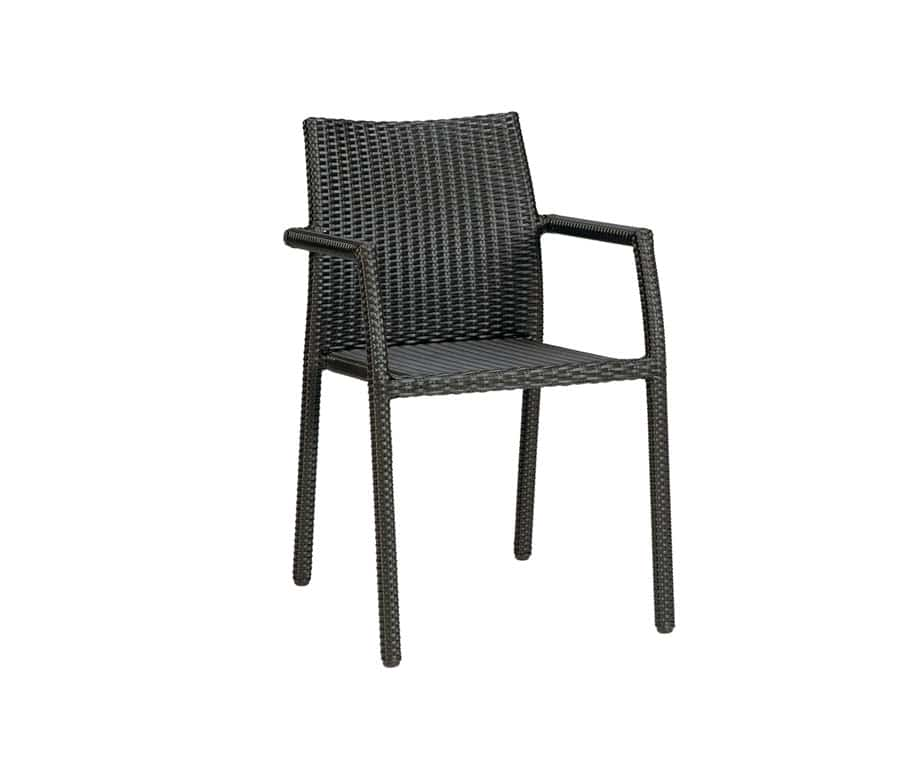 Fresh Outdoor Stacking Arm Chairs