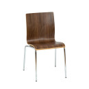 Hale A Stacking Chair Walnut