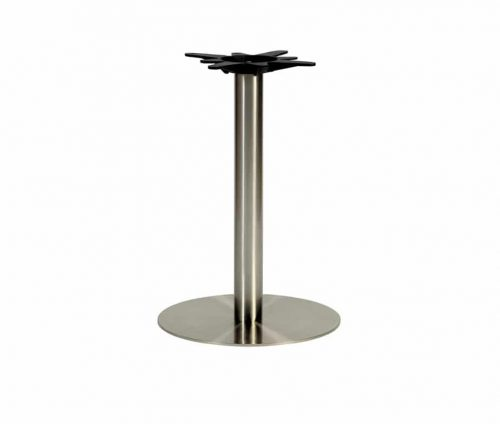 Horizon Silver Round Dining Table