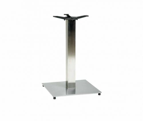 Horizon Silver Square Dining Table