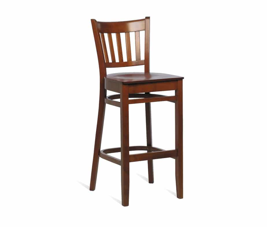 Houston Wooden Bar Stool Timeless Classic Design For Pubs Bars