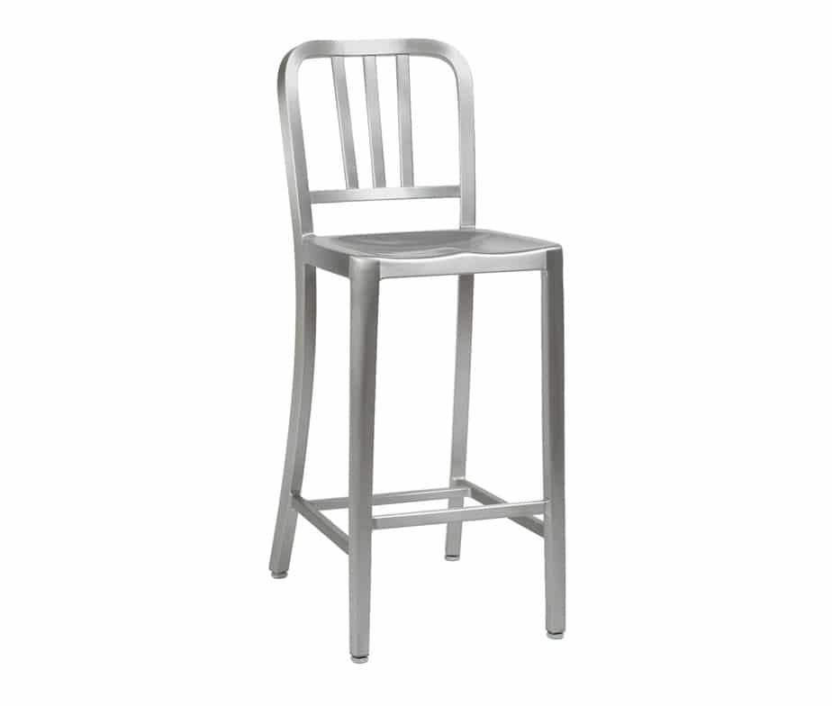 Mezzi Cheap Metal Outdoor Bar Stools For Cafes And Bars