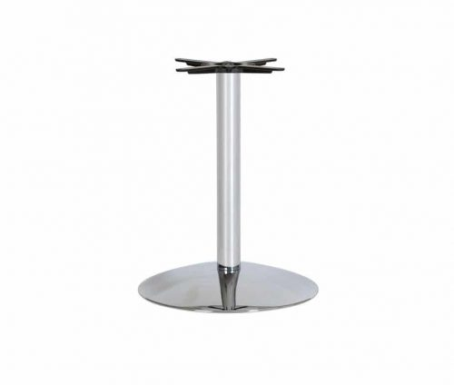 Oxton B3 Chrome Metal Table Base