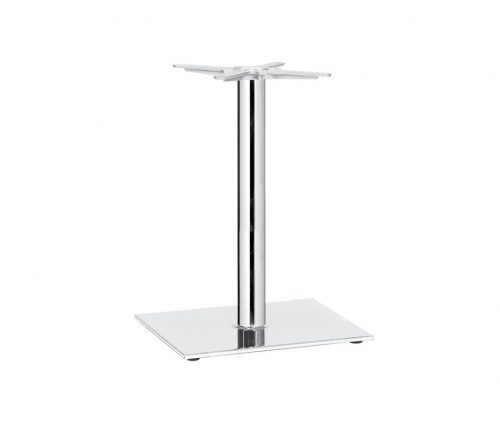 Square B3 Chrome Table Bases