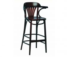 Swanson Walnut Bar Stool