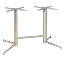 ZeusTwin Ped Large Metal Tables