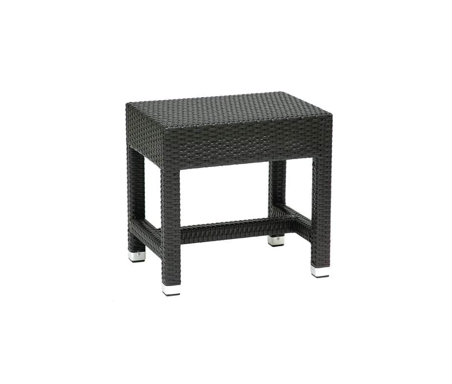 Prima Outdoor Low Stool Made From Rattan Weave