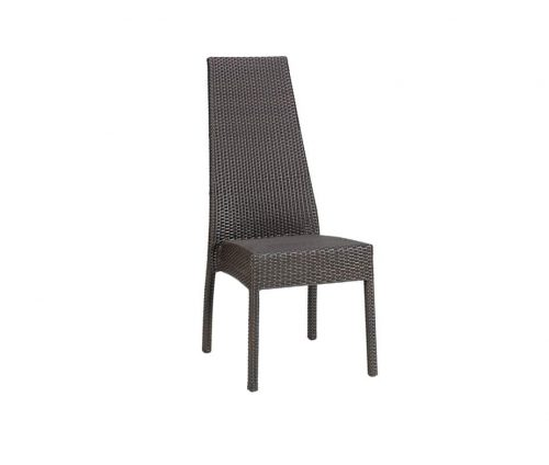 Prima High Back Outdoor Stacking Chairs