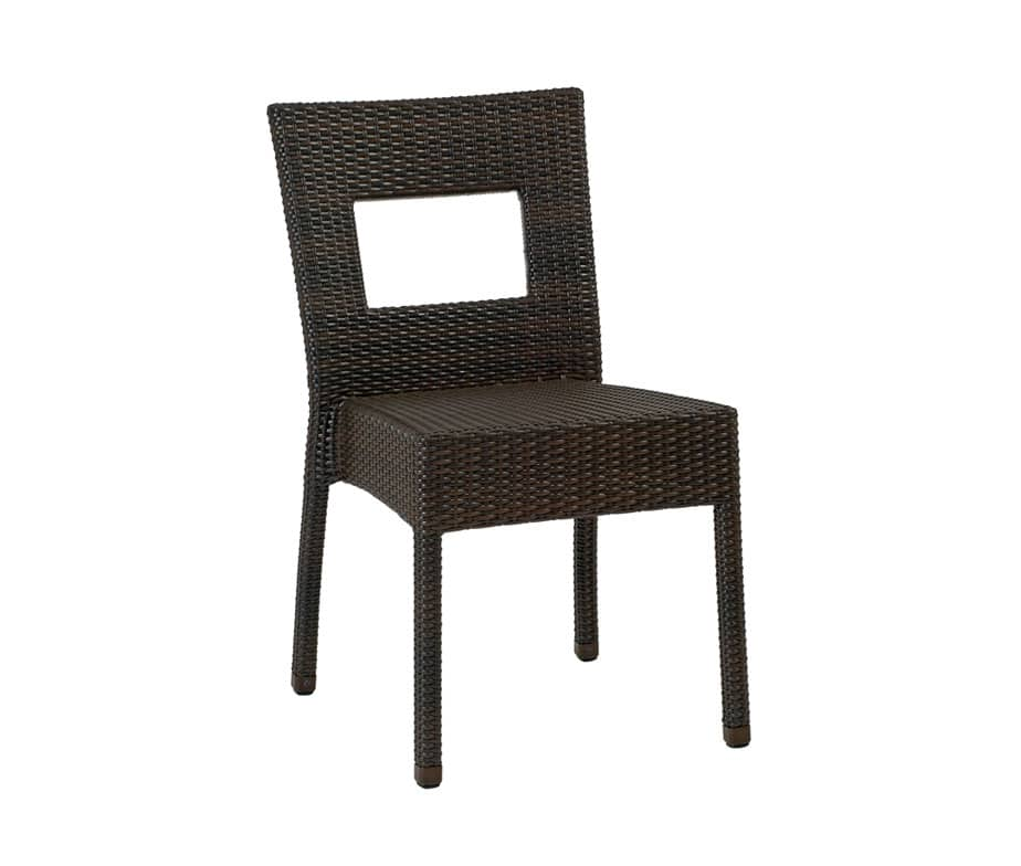 prima rattan window dining chair all weather design