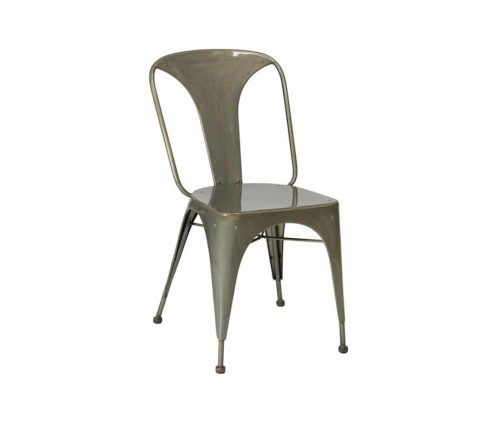 Relish Vintage Industrial Metal Chairs