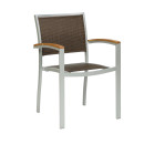 Villa LV Coffee Outdoor Stacking Armchairs