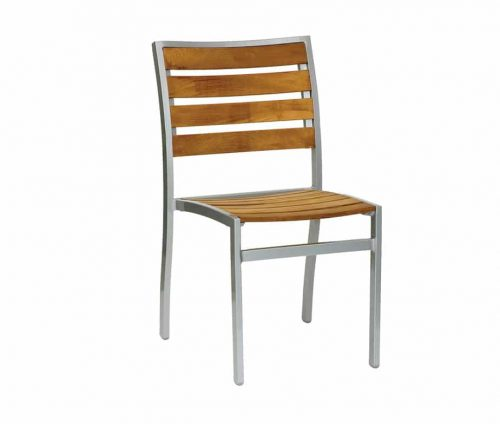 Villa Teak Stacking Outdoor Chairs