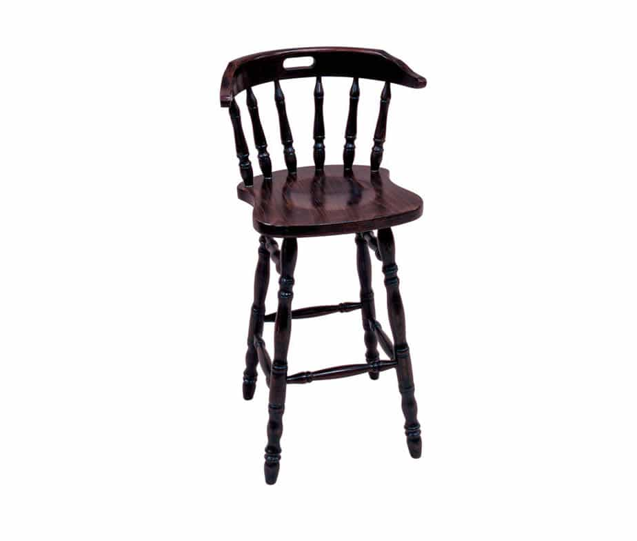 Traditional Captains Spindle Back Pub High Bar Stool Dark  : captains traditional pub bar stools from www.warnercontractfurniture.co.uk size 924 x 784 jpeg 13kB