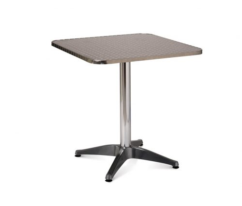 Clio Metal Outdoor Tables Square