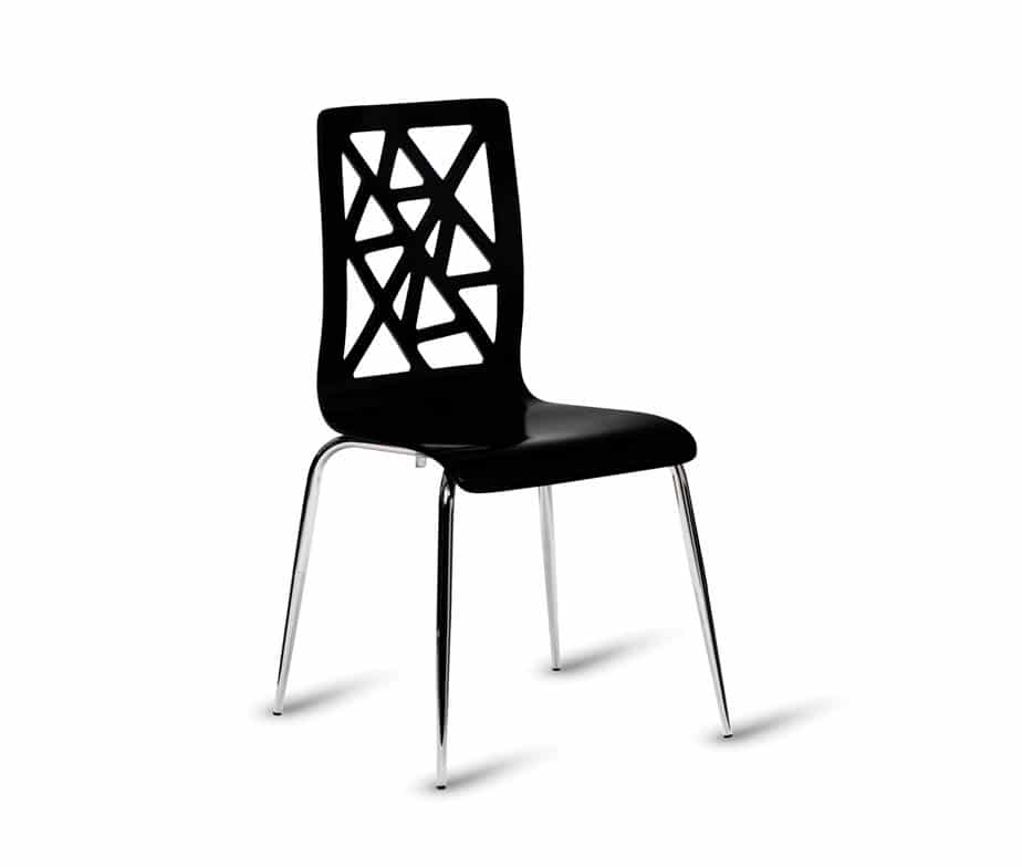 Cordial Cafe Chairs Black ...