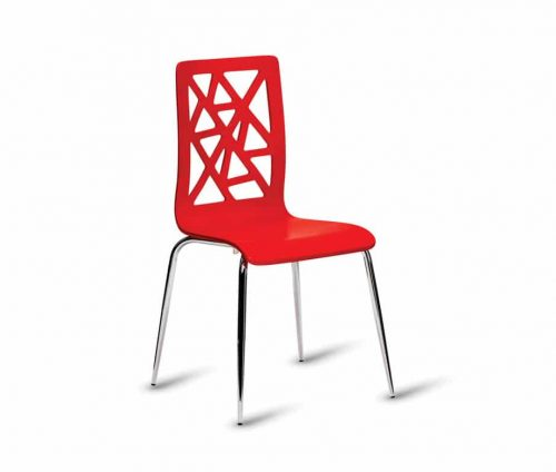 Cordial Cafe Chairs Red