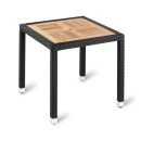 Genoa Outdoor Table Square Teak Top