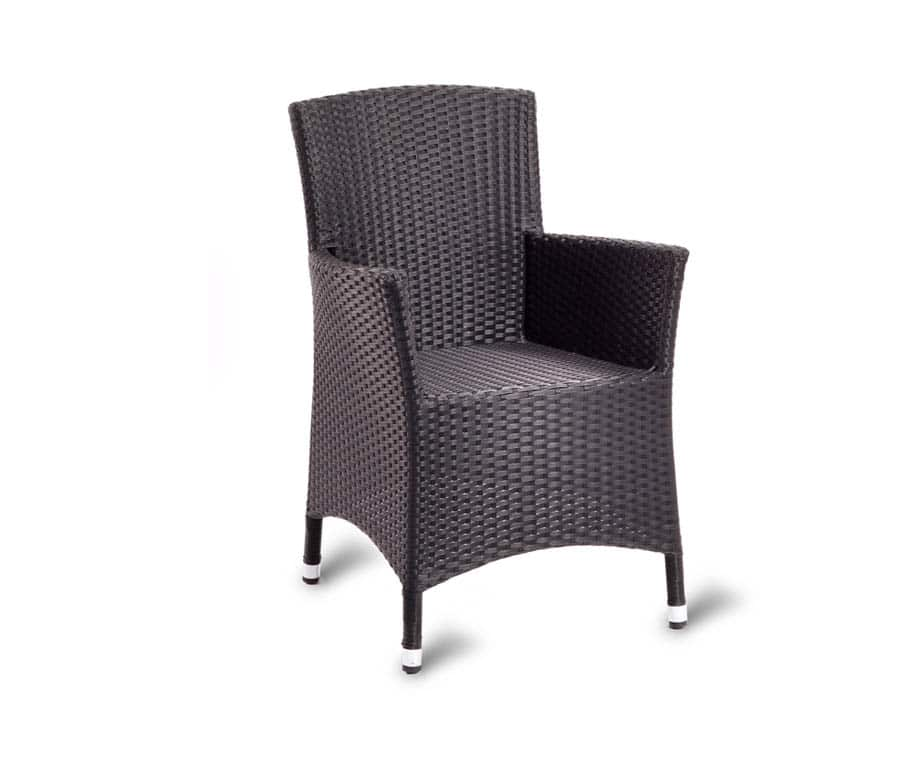 Parma lounge chairs stylish design brown weave strong and
