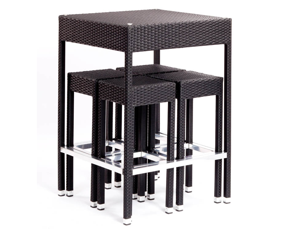 Parma Outdoor High Stool For Bars And Cafes Suitable For Indoor Use Too